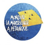 Logo mondial de la pétanque - La marseillaise - Marseille