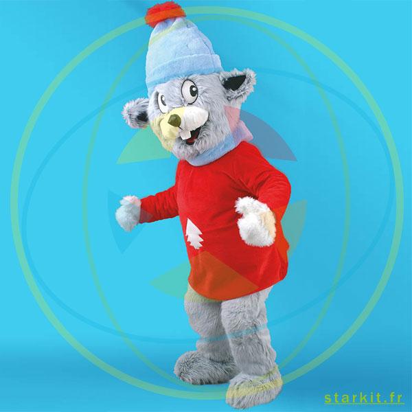 Mascotte costume SOURIS géant