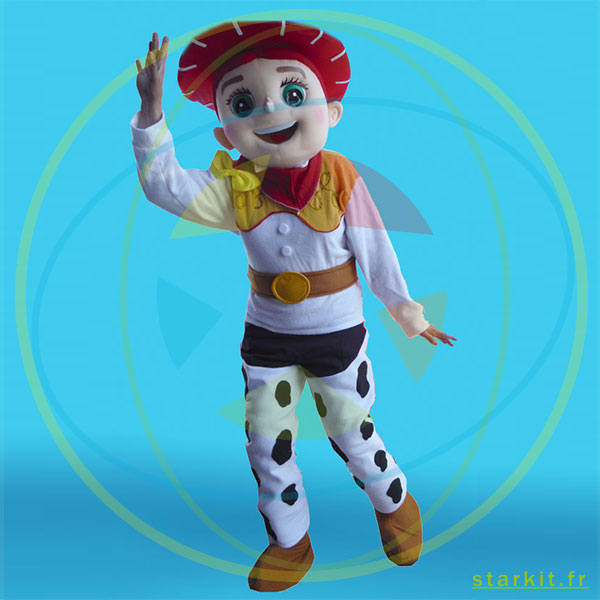 Mascotte costume JESSIE géant