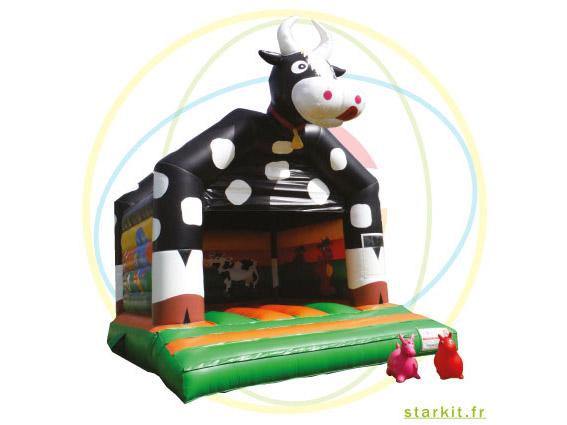 Location marguerite la vache gonflable ferme Marseille Aubagne