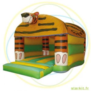 Petit tigre structure gonflable Aubagne Marseille