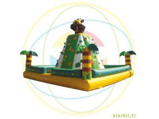 Escalade rocher kingkong gonflable structure marseille aix aubagne bouches du rhone paca