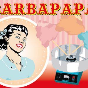 Nous proposons à la location notre machine Barbe à Papa pour toutes vos kermesses, anniversaires, Comité d'entreprise et arbre de Noël.