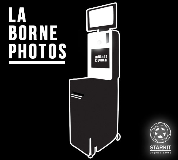 Borne photo STARKIT